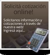 Solicitá cotización online