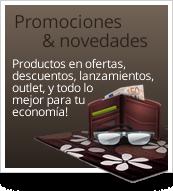 Promociones & novedades