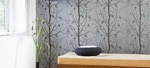 Instalaci n de empapelado decoral alfombras papeles for Papeles pintados vinilicos