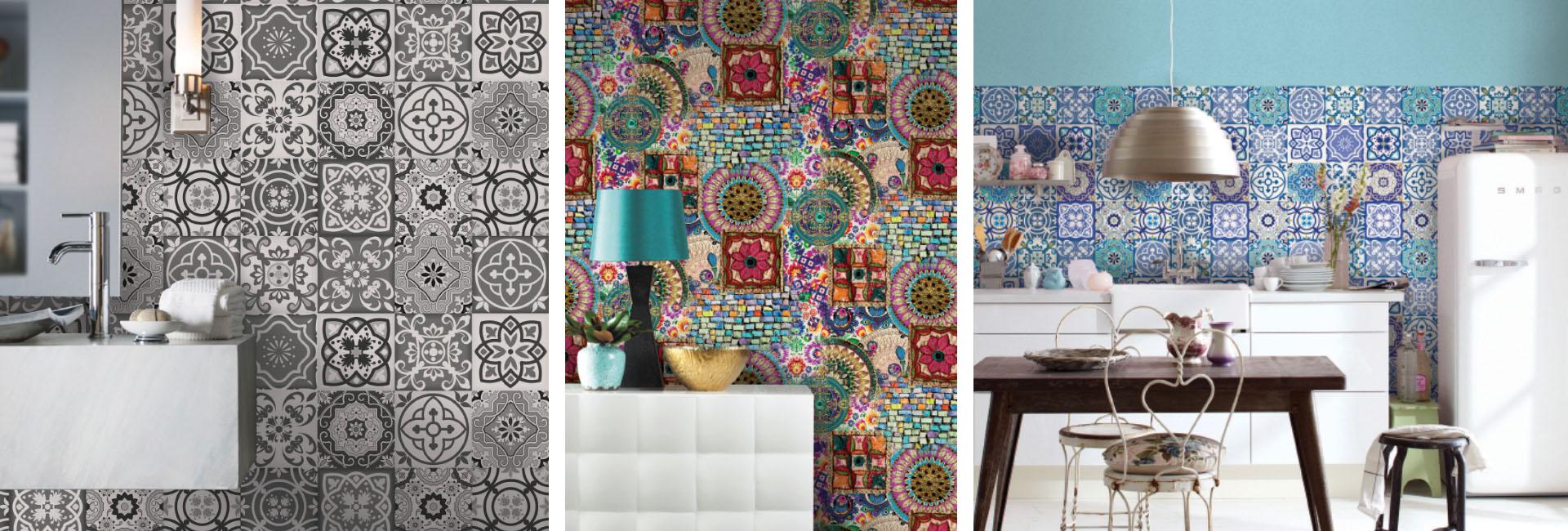 Empapelados vin licos decoral alfombras papeles for Papeles pintados vinilicos