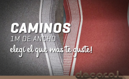 Caminos 1m de Ancho