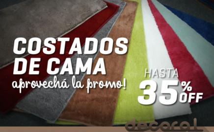 Costados de Cama 35% OFF